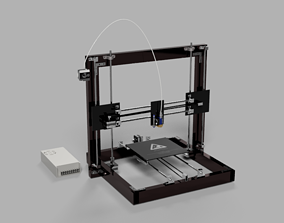 rigged realtime 3D printer