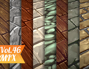Stylized Ground Mix Vol 46 - Hand Painted Texture 3D model
