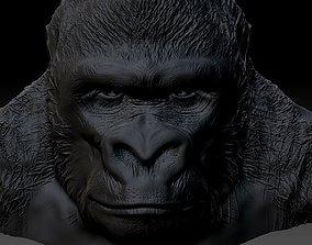 gorilla 3D printable model