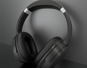 game-ready 3D Headphones Design Low-poly 3D model - mpow