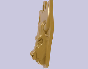 printable Bull Head pendant for 3d printing