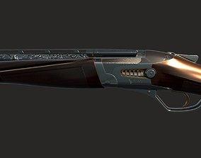 Heritage Plasma Shotgun 3D asset