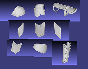 3D print model Fate Achillis Armorset