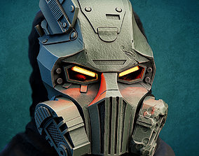 Kabal mask from Mortal Kombat 2021 for 3d