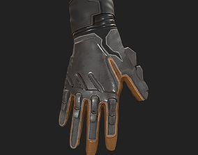 3D asset Scifi Gloves ver2