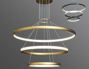 3D model Lamlux nordic uniqe droplight pendant ring