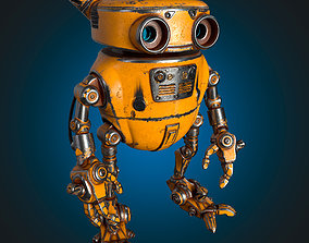 Robot Eddie 3D model