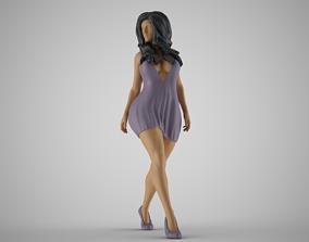 3D print model Summer City Woman
