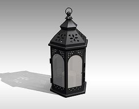 3D model Metal Lantern 01