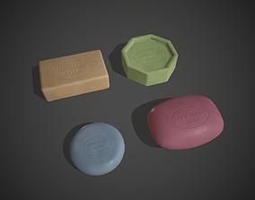 3D model Natural Soaps