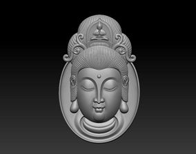 Kwanyin pendant 3D print model