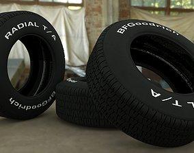 Bf Goodrich 1968 tire 3D model