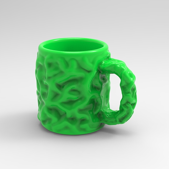 Tree trunk Mug for 3D printing 3D print model