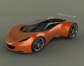 car Lotus Hot Wheels Concept 3D model