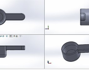 3D model Mini Scoop for picking up mini things