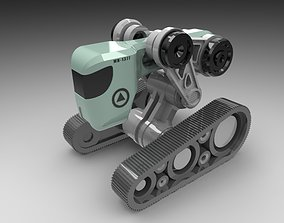 3D print model Tread Bot 2 0