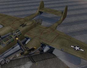 Northrop P-61A Black Widow 3D model