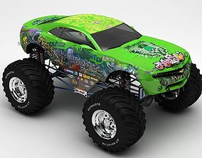 monster car cars 3D