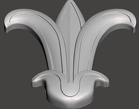 WoodCarving detail - 3d model for CNC - WCCFC0F