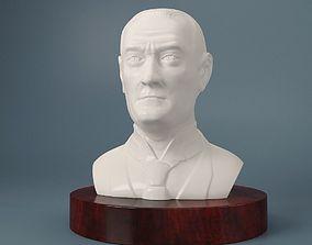 Mustafa Kemal Ataturk 3D printable model