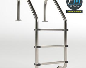Pool ladder 1 3D PBR