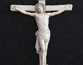 crucifixion Jesus cross crucifix 3D print model