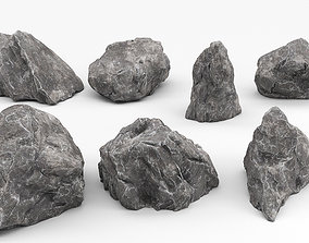 3D model Rock asset pack