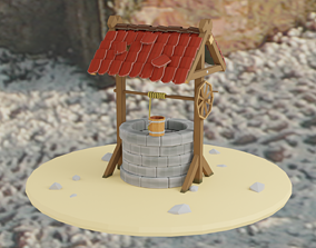 Well with Bucket 3D