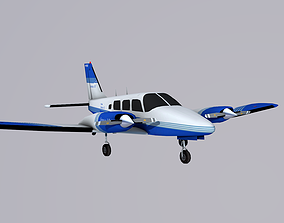 3D model Piper Seneca II