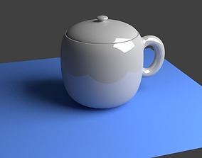 3D print model ceramics cup