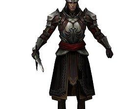 3D model Knight commander