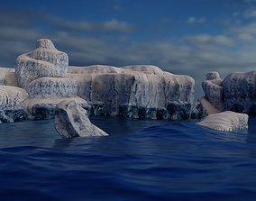 Iceberg Environment 5 pack 3D