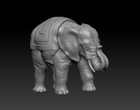 3D print model an elephant