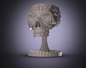 3D printable model Scull Cup