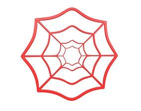 Spider Web v1 004 3D model