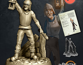 3D print model Town Guard - Presupported - Modular