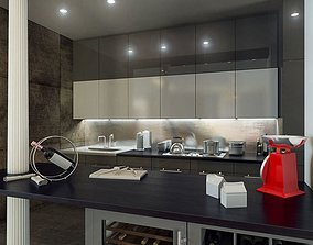 3D Kitchen Appliance Collection