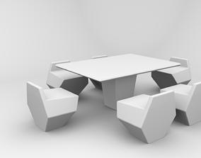 regular chair 3D model