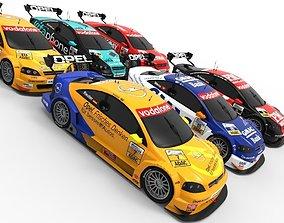 Opel DTM 2002 Season Pack 3D model