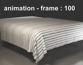 100 Frames Animated Bed Cover 3D model