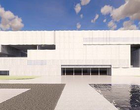 3D Urban geological and cultural exhibition center