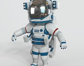 Cosmonaut nasa 3D