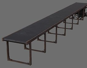 3D model Conveyor Belt 1B
