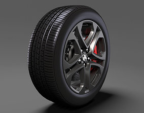 3D Holden Commodore SS 2017 wheel