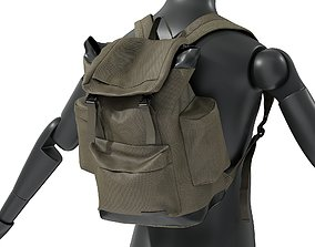 Mens Camping Backpack 6 3D model