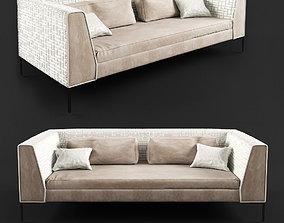 sofa by zaprecsheno 3D model