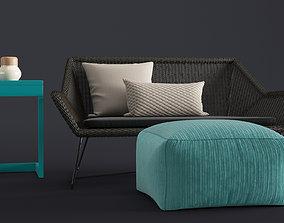 3D model Bench Sofa outdoor
