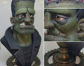 3D printable model Frankie Bust