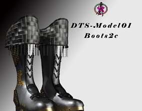 DTS-Model01-Boots2C VR / AR ready