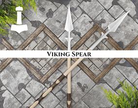 3D model Ancient Viking Spear